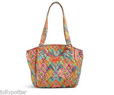VERA BRADLEY Glenna Shoulder Bag PAISLEY IN PARADISE Tote Purse SuPeR PRETTY $80