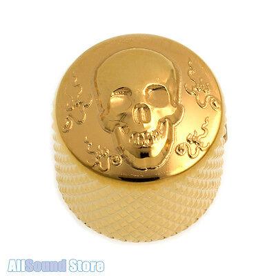 NEW BLACK Luxury Art Collection Control Knob METAL Gotoh Skull VK-Art-02 1