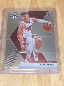Tyler Herro 2019-20 Panini Mosaic Silver Prizm Rookie RC Card Miami Heat Hero