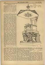 1903 Pulpit Dutch Reformed Church Adderley Street Cape Town 1789