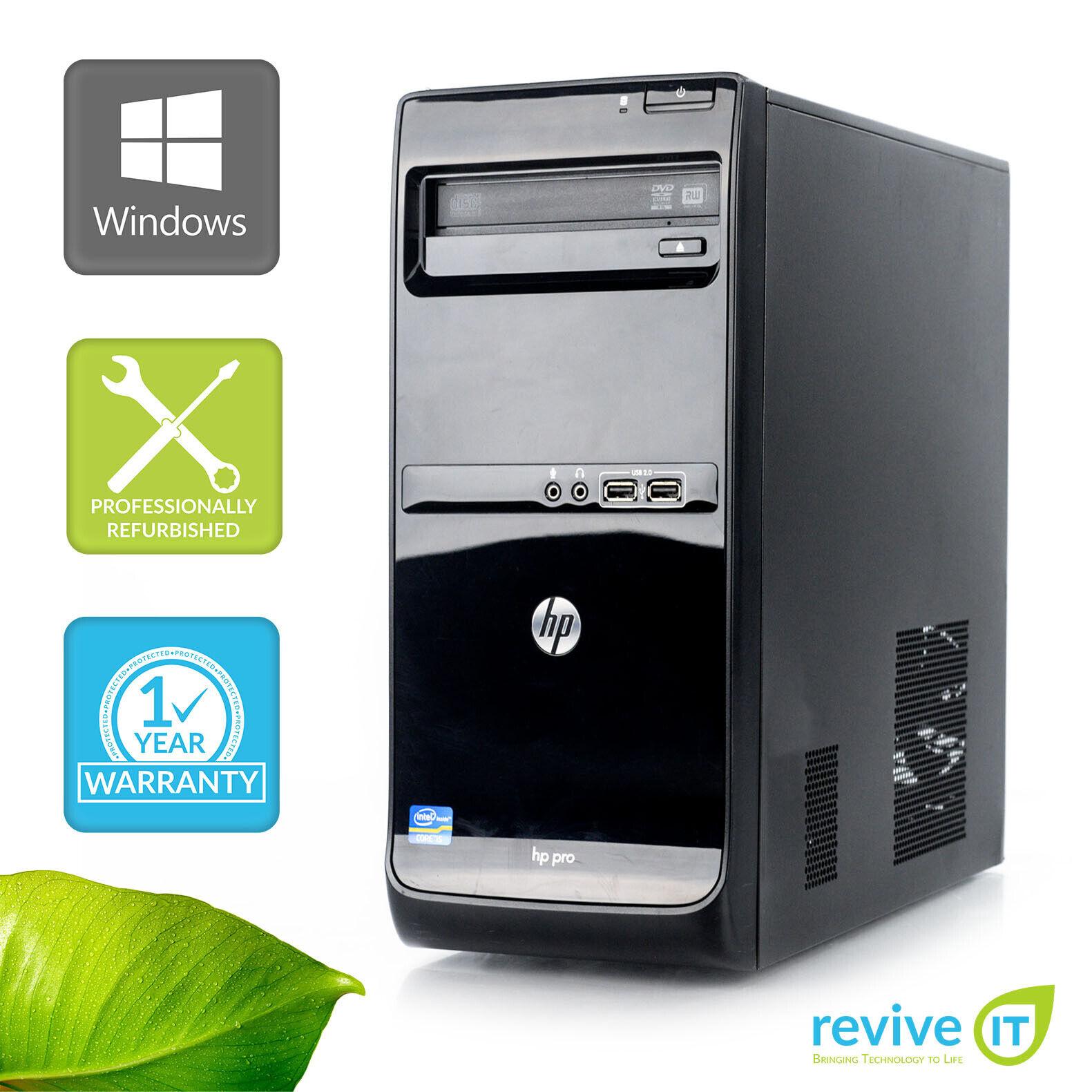 Custom Build HP Pro 3500 MT  i5-3470 3.20GHz Desktop Computer PC