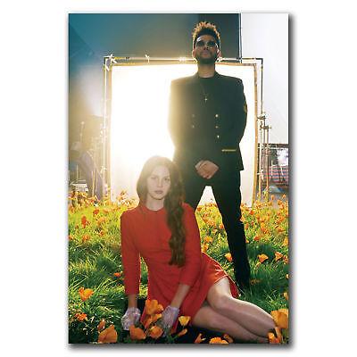 E2870 Art Lana Del Rey The Weeknd Poster Hot Gift 24x36 40inch Ebay
