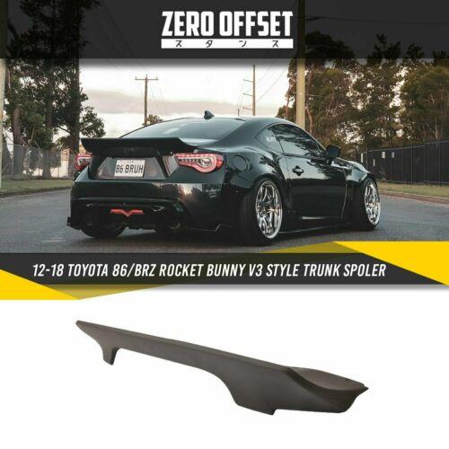 12-18 Toyota 86//BRZ Rocket Bunny V3 Style Spoiler