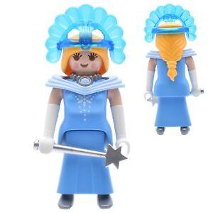 Playmobil Princesse de Glace Reine des Neiges Fée Magicienne Château ...