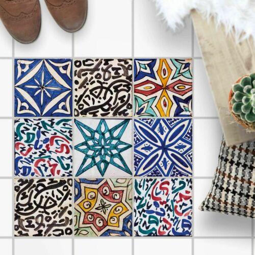 Adhesive Tiles-Floor Tiles-Tile Sticker Tile Sheet-Spanish Tiles