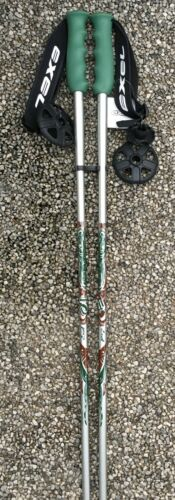 CARBON CI800 EXEL SKISTÖCKE Stöcke Alpin  115,120,130 cm NEU