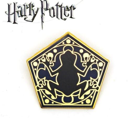 Harry Potter Chocolate Frog Brooch Metal Pin Button Badge Otaku Kids Gift