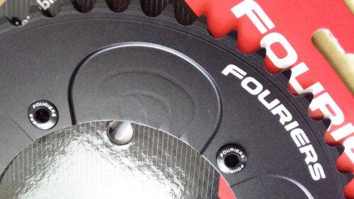 FOURIERS BCD130//144 Chainring 44-53T Tooth Road Bike Time Trial//Triathlon Bicyle