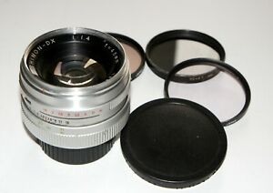 WORLD-039-S-FIRST-YASHICA-YASHINON-DX-45-mm-F1-4-LENS-LEICA-M-Rangefinder-COUPLED