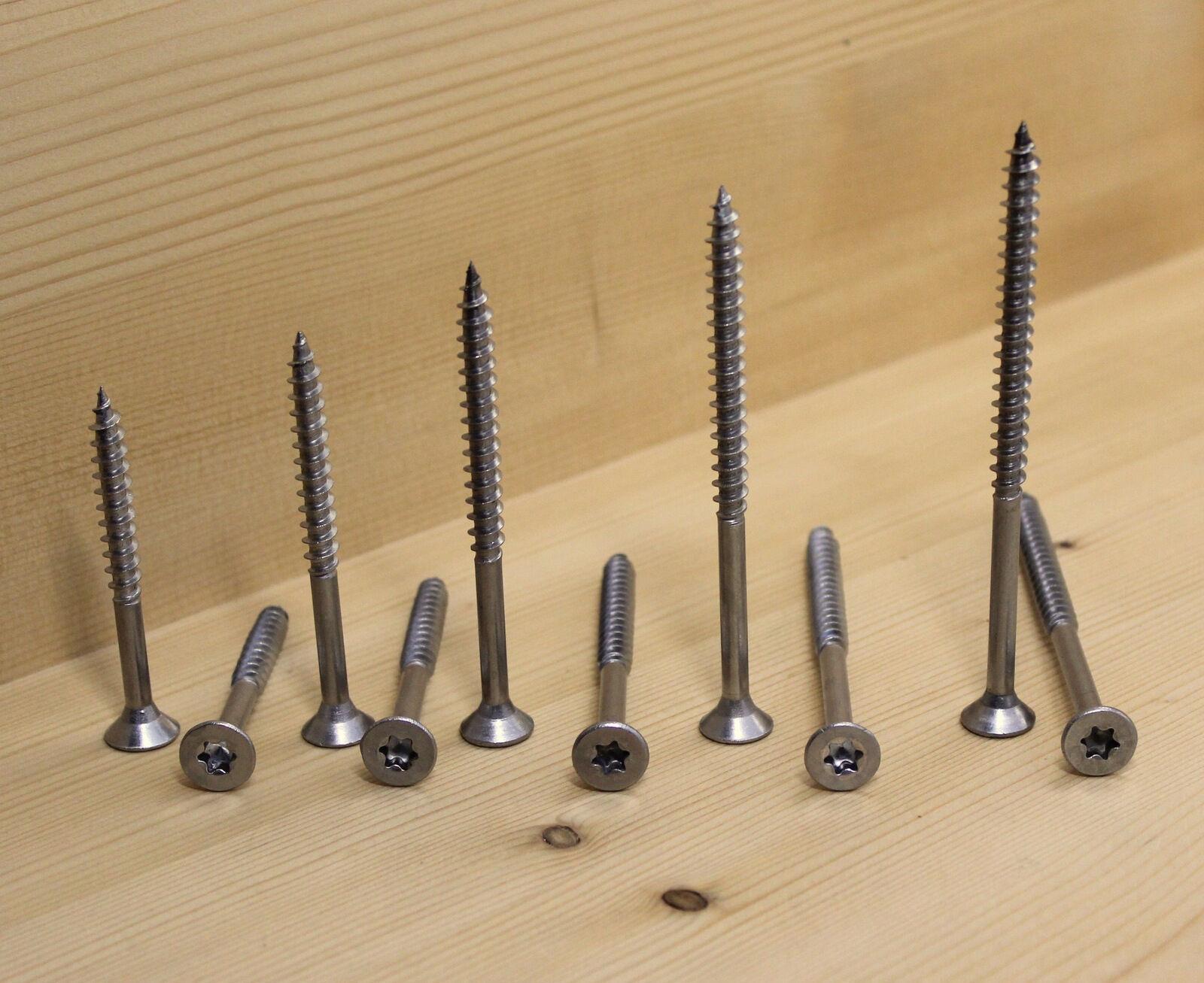 6,0 mm Edelstahl A2 TX 30 Spanplatten Schrauben 6,0 x 60 - 100 mm -Rostfrei V2A-   | Lassen Sie unsere Produkte in die Welt gehen