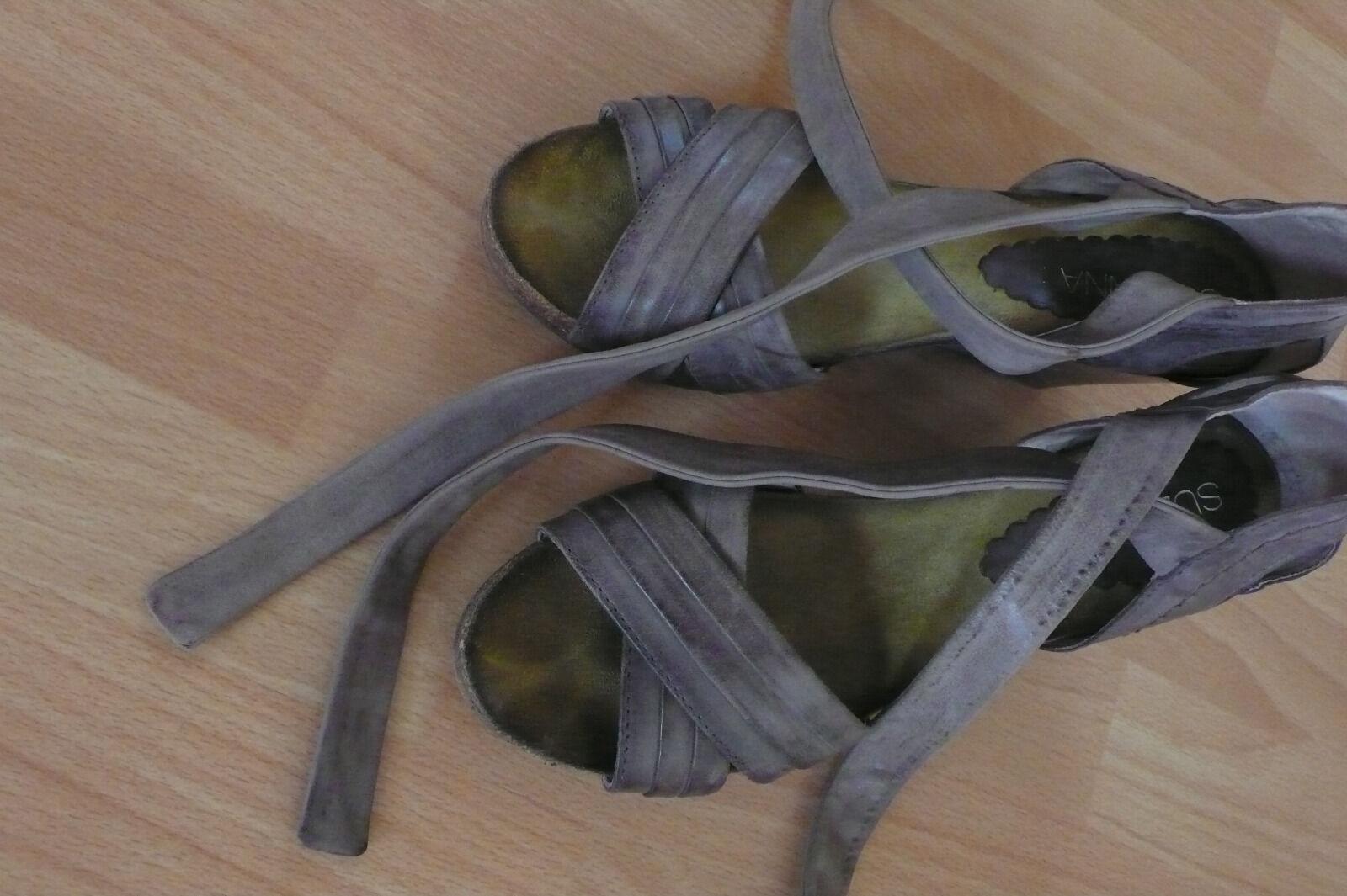 Klasse - Suzanna -  Ledersandalette, Gr.41, 1 X getragen