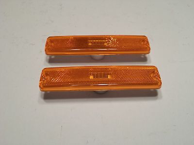 Side Marker Light Pair for Jeep Wrangler YJ 1987-1995 Amber 56001424