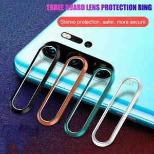 For-Huawei-P30-P20-Pro-Metal-Camera-Lens-Tempered-Glass-Screen-Protector-Cover