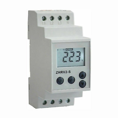 Adjustable Protective Relay:Over/Under Voltage,Phase failure/sequence/unbalance