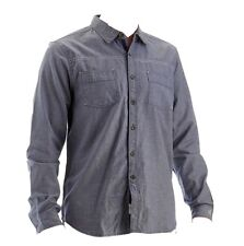 Paper Denim & Cloth - Men's L - NWT - Blue Chambray Cotton Long Sleeve Shirt