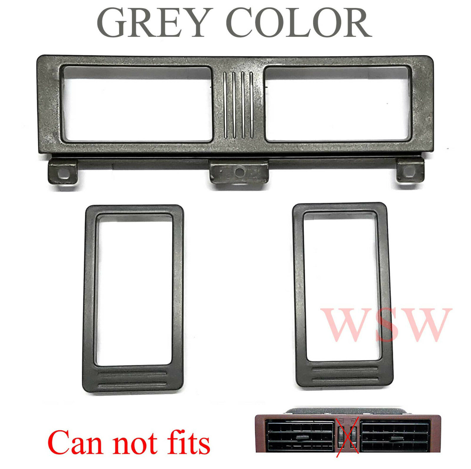 RH AIR VENT TRIM Driver SIDE USE FOR NISSAN D21 NAVARA FRONTIER 1987-1995