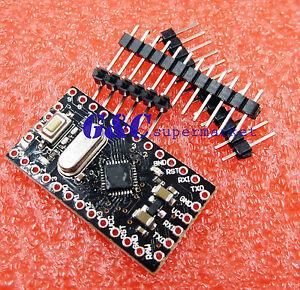 2PCS Pro Mini Atmega168 Module 5V 16M Compatible Nano Replace Atmega328 A