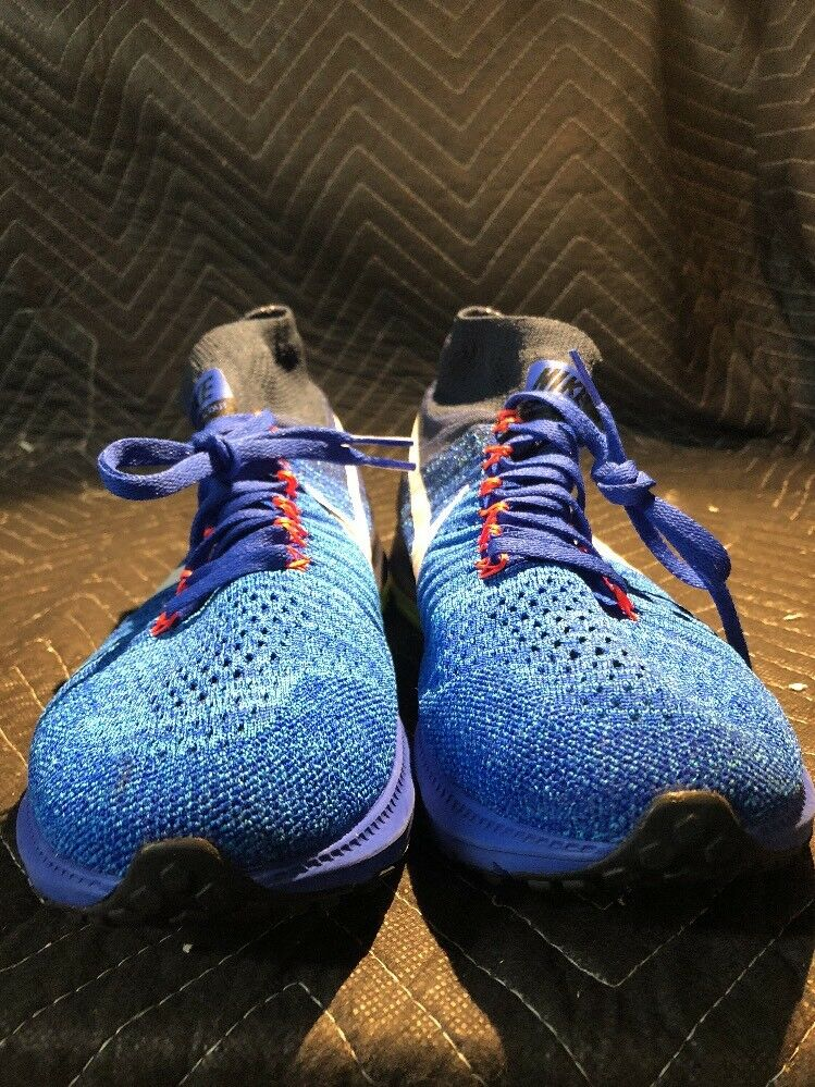 NIKE ZOOM ALL OUT FLYKNIT SHOES SIZE 9.5    844134 401 RACER BLUE