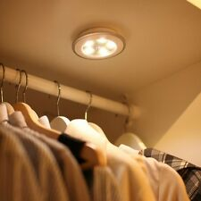 ENEM LED Wireless Motion Sensor Night Light Cabinet Wardrobe Wall Lamp Battery