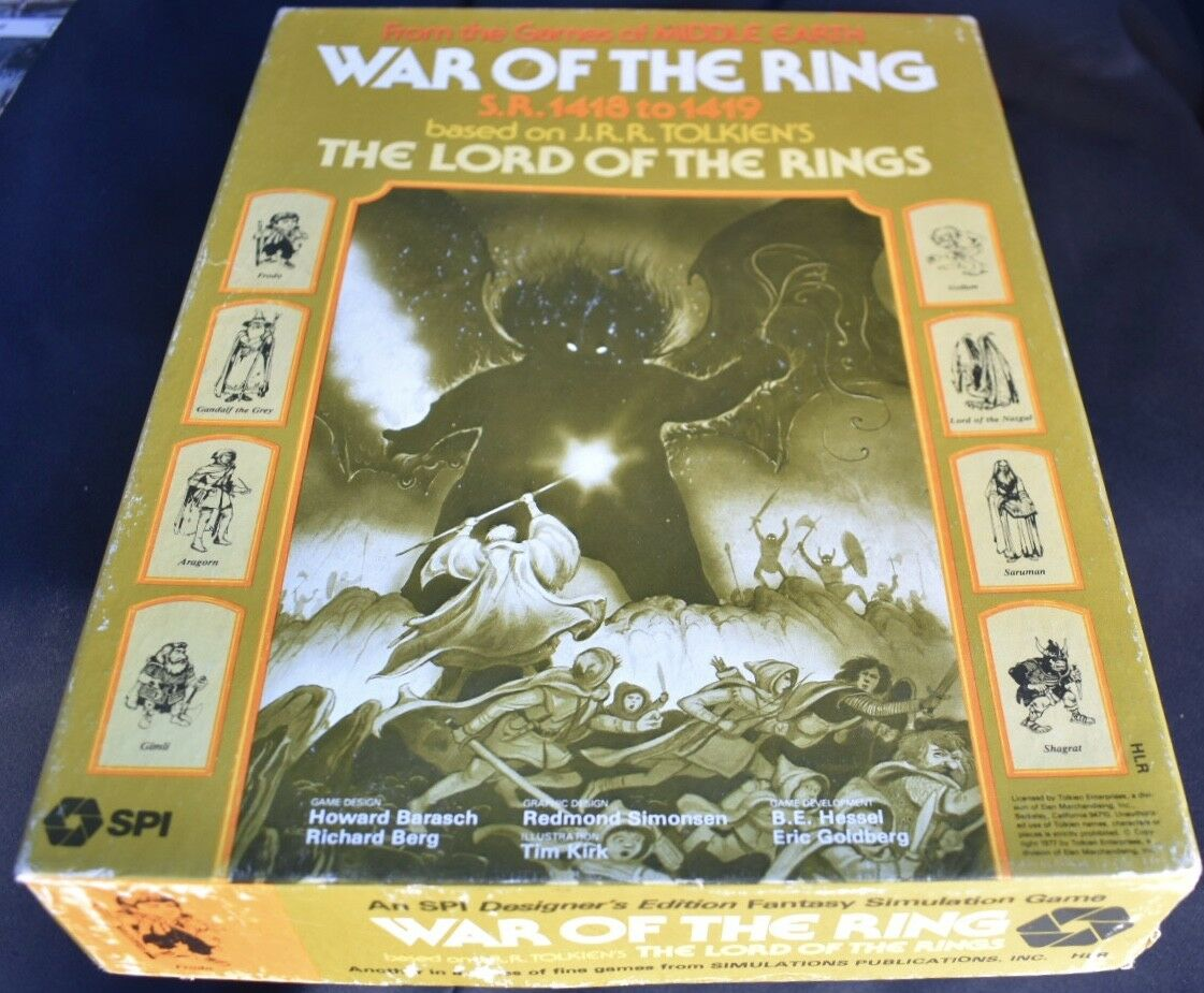 War Of Of Of The Ring SPI Board Game 1a758e