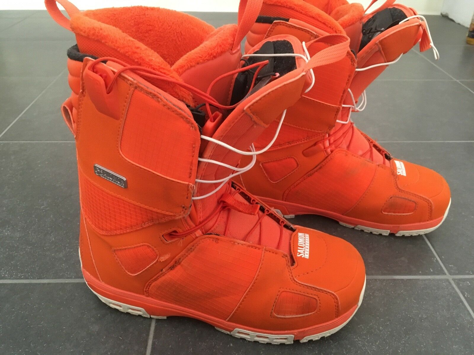 Salomon Snowboardschuhe orange, Größe 41