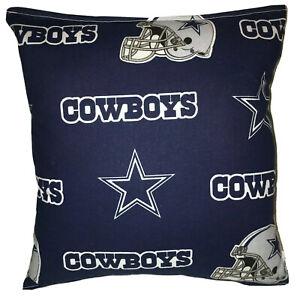 Cowboys Pillow NFC Pillow NFL Pillow Dallas Cowboys Pillow HANDMADE In USA