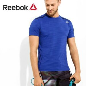 Reebok-crossfit-homme-fonctionnel-a-manches-courtes-activchill-TEE-T-SHIRT-FREE-POST