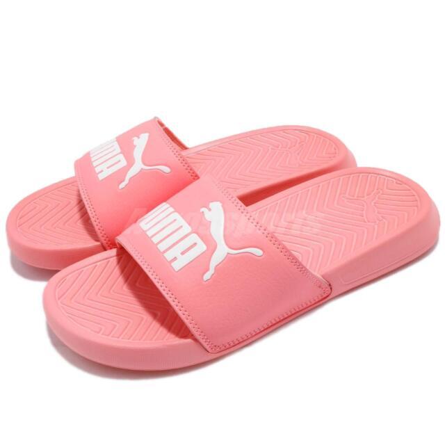 Puma Popcat Pink White Men Women Sandal Slipper Slide 360265-25 029fd429e