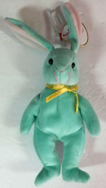 Ty Basket Beanie Babies Hippity The Bunny 2001 PE Pellets ...
