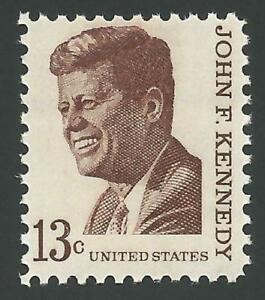 SALE-1967-35th-President-John-F-Kennedy-JFK-Prominent-American-US-Stamp-MINT