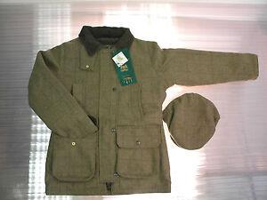 con lana qualità aderente Giacca alta tweed in cappuccio coordinato di da in donna piatto fzaqqp4YTv
