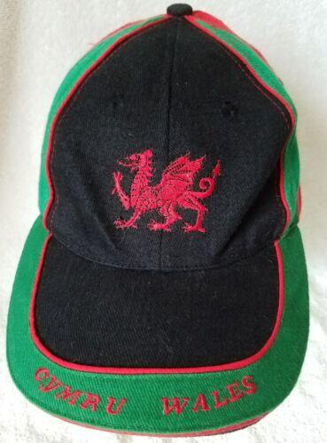 Cymru Wales Embroidered Baseball  Trucker Hat Cap