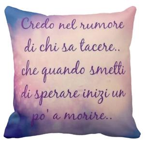 Cuscino Personalizzato Luciano Ligabue Frase Damore 303 Idea
