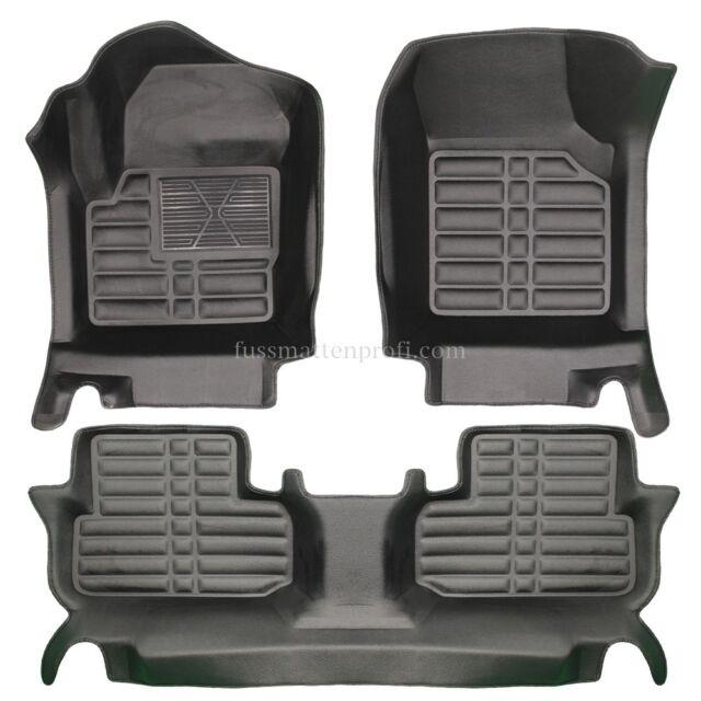 Range Rover Sport Fussmatten Fußraumschalen Satz ab 2013 BEIGE 2.Gen