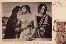 REGNO-DUE RE-GEMELLI-1c FLoreale+1c Umberto(65+68)-Cartolina x Milano 29.11.1901