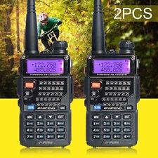 2pcs BAOFENG UV-5RE PLUS(UV-5R+) Dual-Band Walkie Talkie VHF/UHF 2 Way Ham Radio