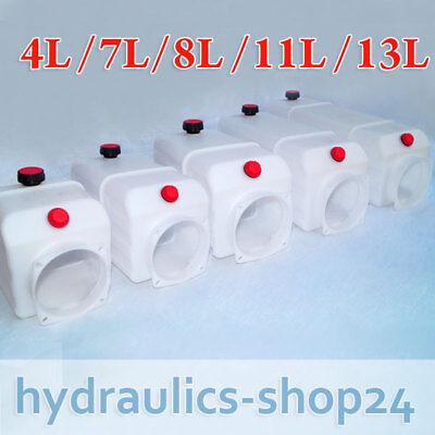 Öl Behälter Kunststoff Für Hydraulikaggregate Hydraulik Pumpe - Kipper Anhänger