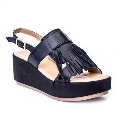 New Matisse Women/'s Laney Slingback wedge  Sandal  sz 8.5  EUR 39 made in italy