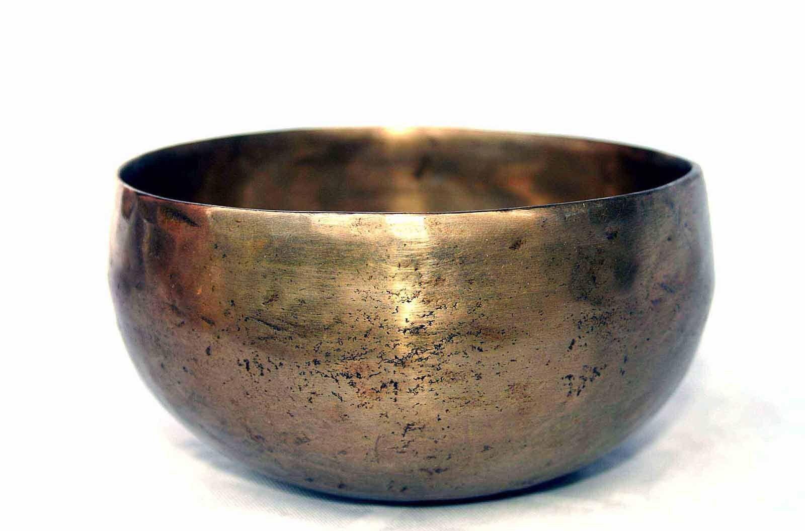 Klangschale Singing Bowl Planetenton Mondkulmination Esoterik Hörprobe 537g M69F