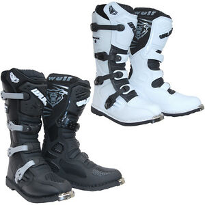 Wulfsport-Track-Star-Adult-Motocross-Boots-Off-Road-ATV-Dirt-Bike-Wulf-All-Sizes