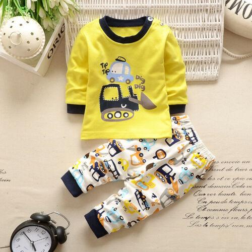 Baumwolle Sets Baby Heißer verkauf Hosen Kleidung Klamotten Set Outfits Tops