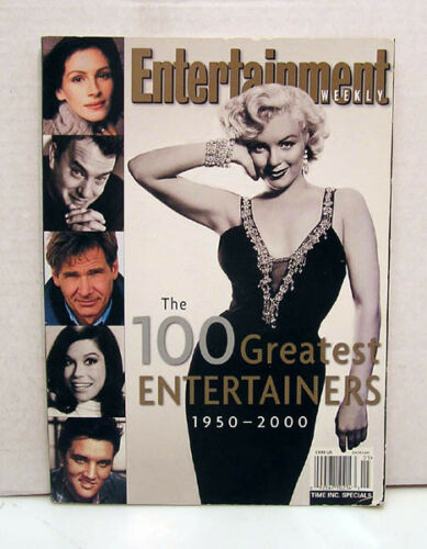 100 Greatest Entertainers 19502000 Entertainment Weekly Special Book L7499