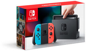 NEW-Nintendo-Switch-32GB-Console-with-Neon-Red-and-Blue-Joy-Con-FAST-Shipping