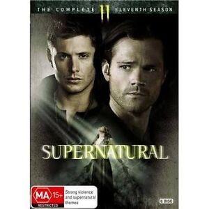 SUPERNATURAL-Season-11-DVD-Region-4-New-AND-Sealed-6-Disc-Set-TV-Series