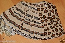 Lot 1000 Large Leopard Brown Print Paper Merchandise Price Tags With String