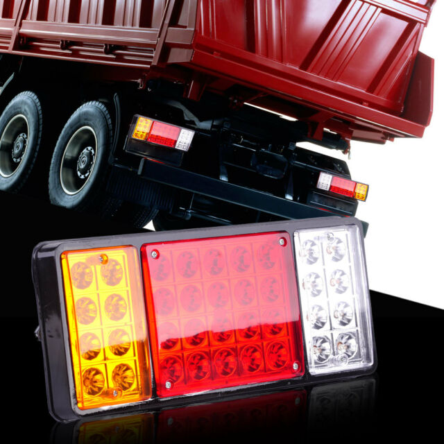 36 LED Rear Stop Light Tail Brake Indicator Lamp Trailers for Van Truck Boat 12V