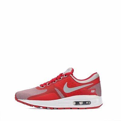 Juniors Nike Air Max Zero Essential GS Grey//Red 881224 003 SALE!!