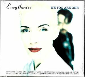 EURYTHMICS  WE TOO ARE ONE 2005 EU CD REISSUE DIGIPAK ALBUM FACTORY SEALED - Sutton-In-Ashfield, Nottinghamshire, United Kingdom - EURYTHMICS  WE TOO ARE ONE 2005 EU CD REISSUE DIGIPAK ALBUM FACTORY SEALED - Sutton-In-Ashfield, Nottinghamshire, United Kingdom
