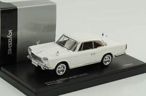 Nissan-PRINCE-SKYLINE-SPORT-coupe-blanc-1-43-Kyosho-QUALITE