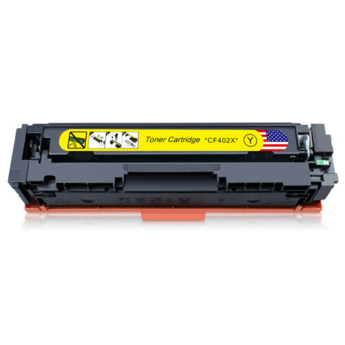 CF403A 201A Set For HP Laserjet M252n M277dw Printer 8PK Toner Cartridge CF400X